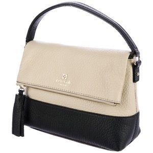 Kate Spade Black & White Mini Carmen Crossbody Bag